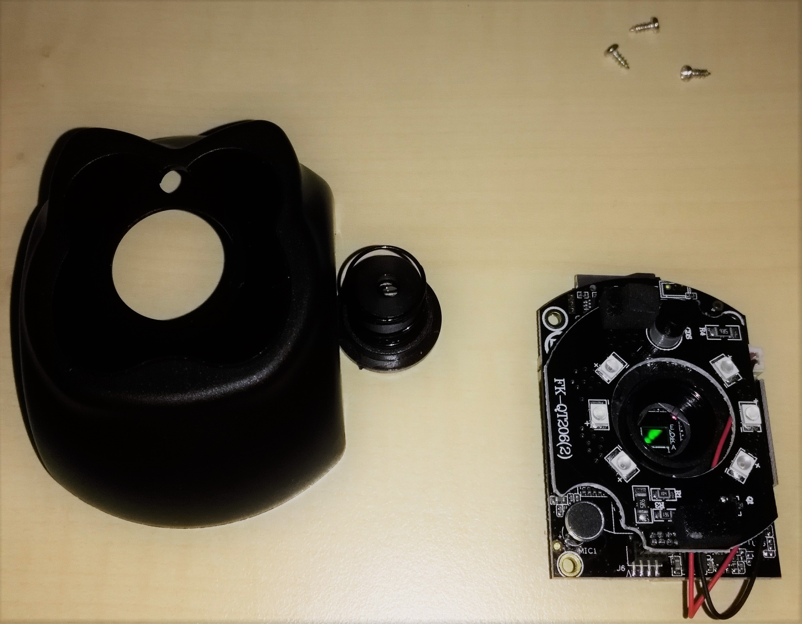 Hacking IP-Camera Digoo BB-M2 – Part 1 – Identify serial interface