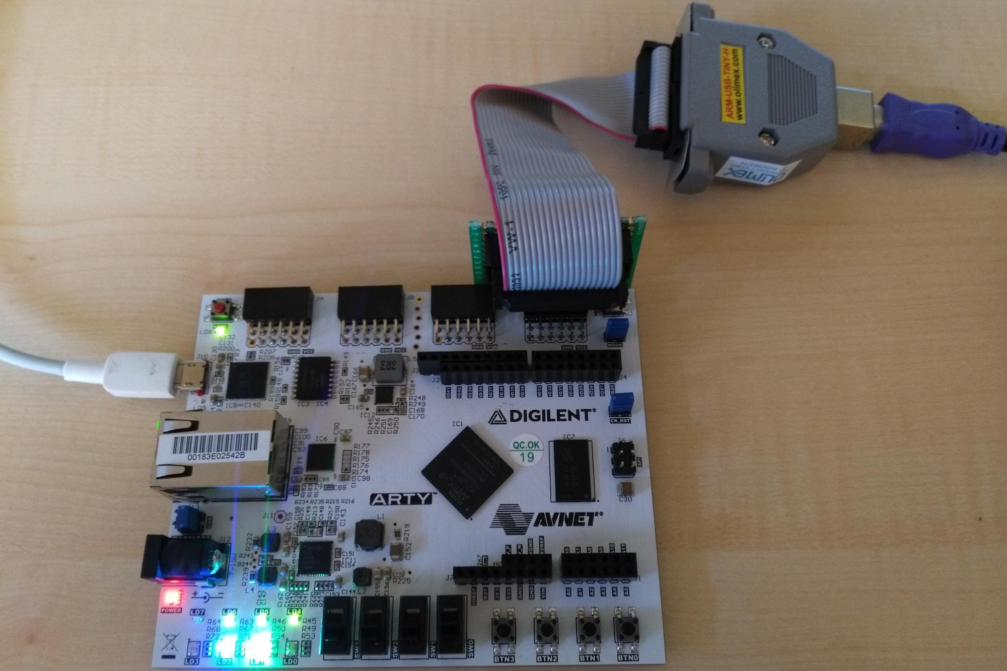 Open Source Risc-V on the Xilinx Artix-7 35T Arty – Part 2